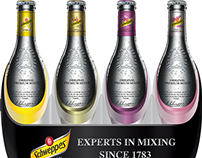 Schweppes Product Display