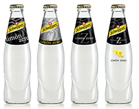 "Proposals for Schweppes ""limón zero"" packaging"