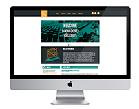 Boom Done! Records Website Plan & Design