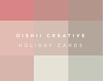 Oishii Creative Holiday Cards