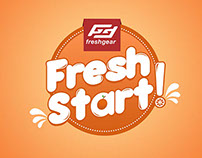 "Fresh Gear ""Fresh Start"" Campaign Materials"