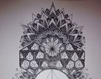 Mandalas Triangular Chakra