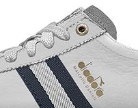 casual footwear design for diadora