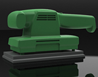 Black&decker render made by Solidworks