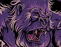 Gorilla/Rex Battle