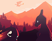 Pokemon Vector minimalist Poster