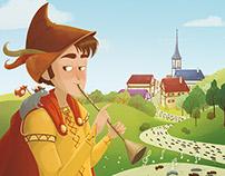 Le joueur de Flûte (Ed. Auzou)