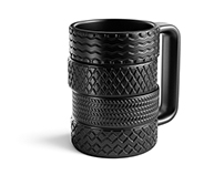 Ukrainian Revolutionary Mug Smoky Wheels