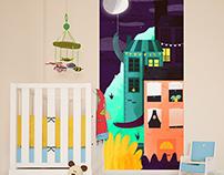 Interior prints for kids