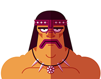 Conan the flat barbarian
