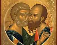 Св. Апостолы Пётр и Павел /St. Apostles Peter and Pavel