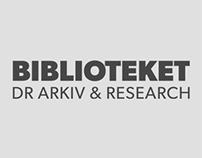 BIBLIOTEKET DR ARKIV