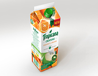 Tropicana Tetra Pack Visual