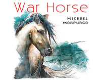 Watercolour illustrations for War Horse book.