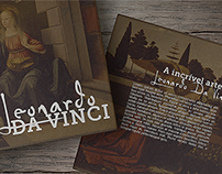 Da Vinci Biographic Art Book