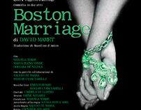 "Locandina Evento ""Boston Marriage"""