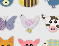 Patch Animals Icons