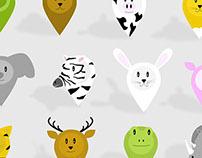 Animal Map Icons