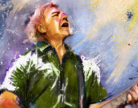 Alex Lifeson Portrait