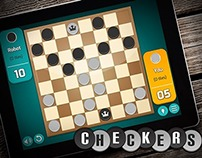 Checkers Game App