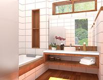Bathroom for Tropical House