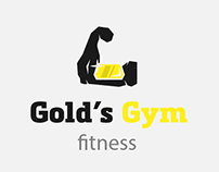 Project gym: Gold's Gym Logo