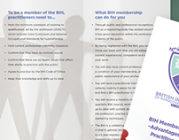 4 page membership handbook