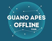 Guano Apes Offline Tour T-shirt Design