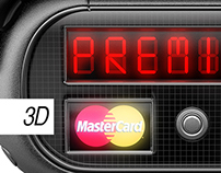 3D Illustration / MasterCard