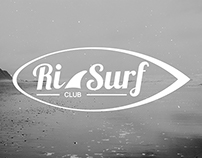 Ri Surf logo design