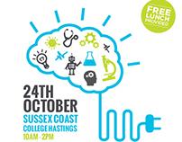 STEM Sussex Careers Event -  Promotional content