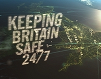 Keeping Britain Safe 24/7 – TV titles and graphics