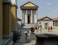 New Roman Baths — CGI reconstructions