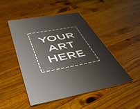 A3 Poster Mockup   FREE DOWNLOAD