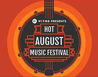 Hot August Music Festival 2014 Poster