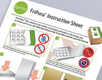 Fripura product usage illustrations