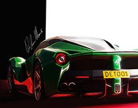 personal illustration la verde