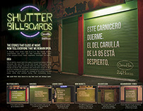 Shutter Billboards Carulla 24hours
