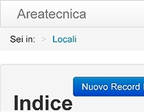 Areatecnica: tech data & workflow for restaurant chain