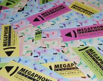 Megaphone Re-launch Party Invites