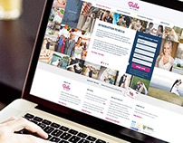 Bella Pictures Landing Page
