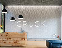 'Cruck' Concrete Tile