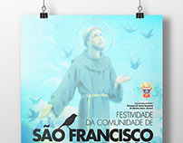Poster Design / St. Francis of Assisi
