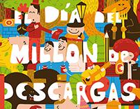 EL DÍA DEL MILLÓN DE DESCARGAS I & II