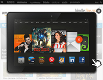 Banner Kindle Fire HDX