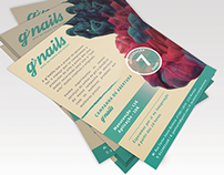 G'nails Branding & Storefront design
