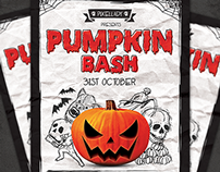 Pumpkin Bash Flyer
