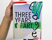 Three Years of Art Monograph