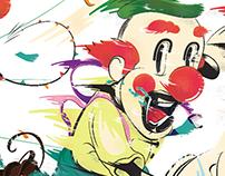 Hate clows...