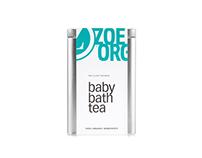 Zoe Organics Baby Bath Tea